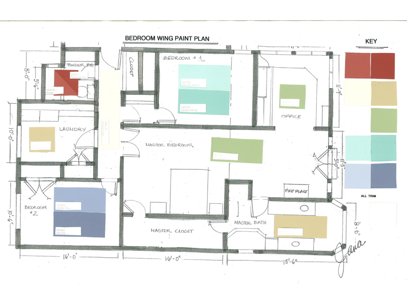 Architectural Drawings And Plans Jana Design Interiors