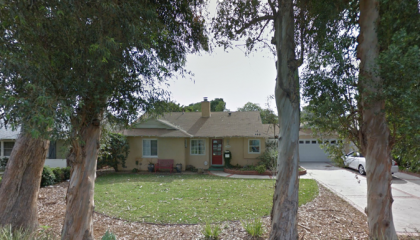 A tree falls on this cute house in Granada Hills